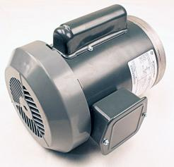 General Electric 5KC49NN2135X 1 HP AC Motor - Photo 1