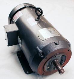 Used Baldor CD 6202 2 HP DC Motor - Photo 1