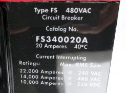 Cutler-Hammer FS340020A 20 AMP Circuit Breaker - Photo 4