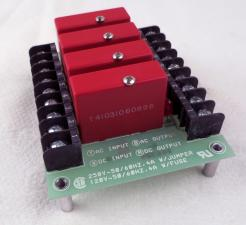 Potter & Brumfield 2IO-4A Relay I/O Board With (4) ODC-5 Solid State Relays - Photo 1