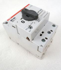 ABB MS325 4-6.3A Manual Motor Starter - Photo 1