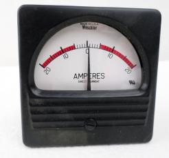 Weschler Electric ES-50-50 MV DC Panel Meter - Photo 1