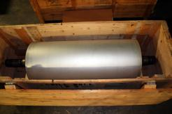 Used 65 x 30 Er-We-Pa Double Shell Spiral Fluted Chill Roll - Photo 1