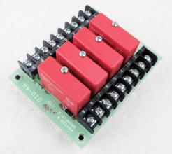 Used Potter & Brumfield 2IO-4A Relay I/O Board With (4)ODC-5 Solid State Relays - Photo 1