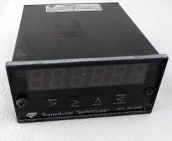 Used Transducer Techniques DPM-3 Digital Panel Mount Load Cell Meter - Photo 1