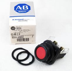 Allen-Bradley 800H-AR6D2 Red Push Button - Photo 1