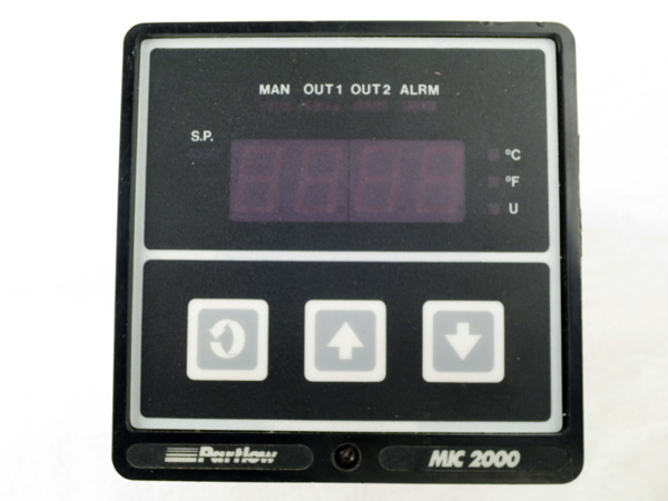 Repaired Partlow 2133101 Mic 2000 Pid Controller