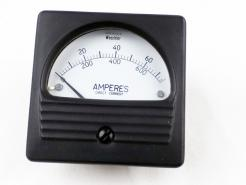 Used Weschler Electric RX351 DCA DC Ammeter 0-750 Amperes - Photo 1