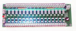 Used Crouzet PB-16C4-T Digital I/O Module Mounting Board - Photo 1