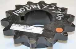 Martin 140B14 ANSI Roller Chain Sprocket - Photo 1