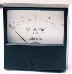 Used Simpson Electric 17668 Current Meter  - Photo 1