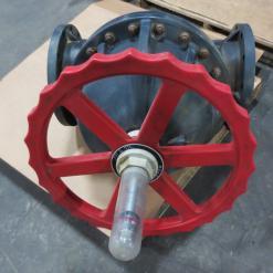 Used Asahi/America 1126100 10 PVC-EPDM Flanged Diaphragm Valve - Photo 1
