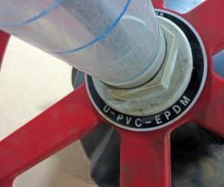 Used Asahi/America 1126100 10 PVC-EPDM Flanged Diaphragm Valve - Photo 5