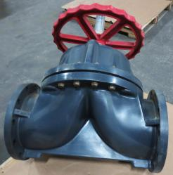 Used Asahi/America 1126100 10 PVC-EPDM Flanged Diaphragm Valve - Photo 3