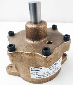 Schrader Bellows 034530129 Base Mount Clamping Cylinder - Photo 1