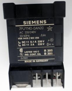 Used Siemens 7PU1140-0AN20 Time Delay Relay
