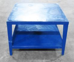 Used 48 x 48 Heavy Duty Steel Work Table With Acrylic Surface - Photo 1