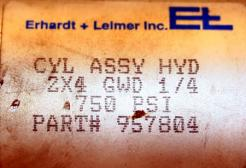 Used Lin Act Air Cylinder, Model P52-5R-2.0x4-N-1-R - Photo 6