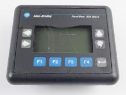 Used Allen-Bradley 2711-M3A18L1 PanelView 300 Micro Operator Interface - Photo 1