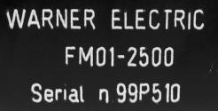Used Warner Electric FM 01-2500 Foot Mounted Load Cell - Photo 4