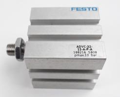 Festo ADVC-32-15-A-P-A Double-Acting Short Stroke Cylinder - Photo 1