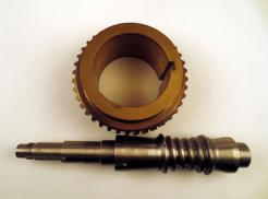 Ex-Cell-O Cone Drive MVOS-7500C-CUJ Replacement Double Enveloping Worm Gear - Photo 1