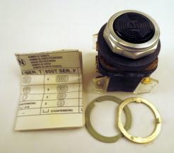 Allen-Bradley 800T-A2B Push Button Flush Head Black - Photo 1