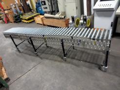 "Used 144"" x 18"" Best/Flex Flexible Conveyor - Photo 1"