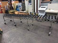 """Used 154"""" x 24"""" NestaFlex 175 Flexible Conveyor - Photo 1"""