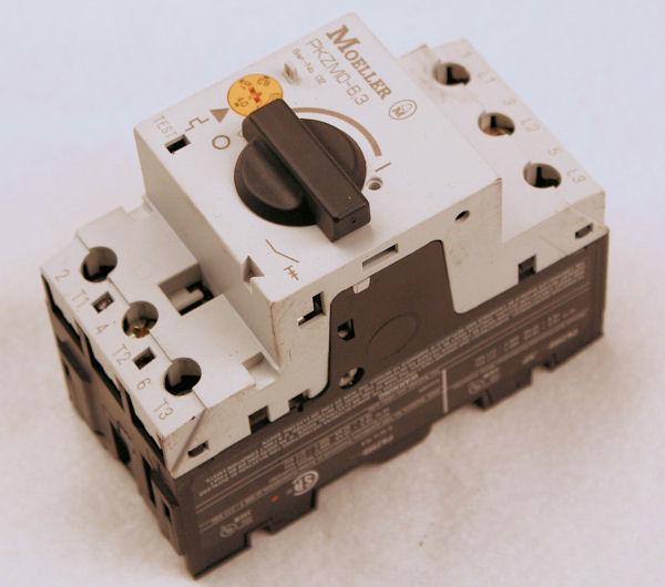 Klockner Moeller PKZM0-6,3 Motor Starter