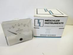 Surplus New Weschler Instruments GX-332, 606B602A14 DC Ammeter - Photo 1