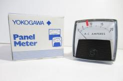 Surplus New Yokogawa 250240 LSNG 0-20 AC Amperes Panel Meter - Photo 1