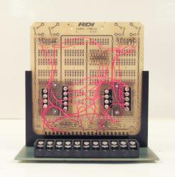 Used RDI Reed Devices 22PCB Snaptrack Sockets Interface Module with KB2200 P.C. Board - Photo 1