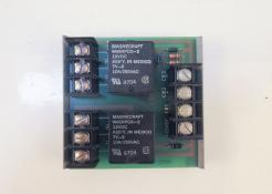 Used K-Tron 9191-00004-A Alarm Relay with RDI Snaptrack Mount - Photo 1