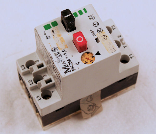 Motor Protection Switch-Klockner Moeller PKZM 1-1,6//1,0-1,6 A