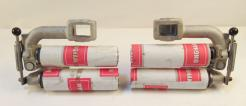 Used 9-Inch Nip Type Anti-Wrinkle Spreader Rolls 50647-64--Sold in Pairs-Photo 7