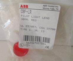 ABB CBF-LR 30MM Red Pilot Light Lens - Photo 1