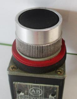 Used Allen Bradley 800MR-A2A Black 10A, 300VAC Non-Illuminated Pushbutton-Photo 2