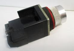 Used Allen Bradley 800MR-A2A Black 10A, 300VAC Non-Illuminated Pushbutton-Photo 4