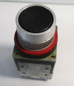 Used Allen Bradley 800-MRA2B Black Non-Illuminated 2NO-2NC 10A 300VAC Pushbutton-Photo 4