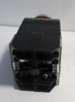 Used Allen Bradley 800MR-HX2BBS 2-Position 2NO-2NC 10A 300VAC Selector Switch-Photo 4