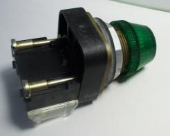 Used Allen Bradley 800T-Q24G Green Pilot Light-Photo 3