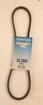 Dayco 3L360 9R915 Durapower II V-Belt-Photo 1