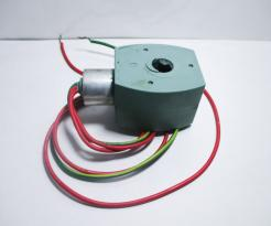 Used ASCO 238610-032-D Encapsulated Solenoid Valve Coil-Photo 1