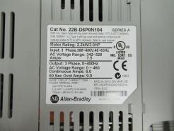 Used Allen-Bradley PowerFlex 40 22B-D6P0N104 3.0HP AC Drive-Photo 2