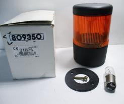 Schneider Electric, Telemecanique XVAL351 240VAC/DC Orange Stack Light-Photo 1