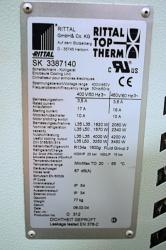 Used Rittal Top Therm SK 3387140 Enclosure Air Conditioner & Cooling Unit - Photo 3