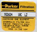 Parker Filtration 922624 10C LZ Hydraulic Filter - Photo 2