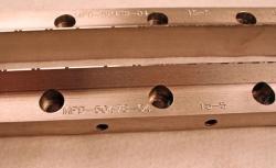 Used 32 Custom Pattern 60 Lane Stainless Steel Striping Slot Die Lips MPD-50478-04 - Photo 3