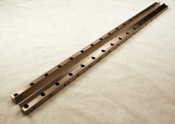 Used 32 Custom Pattern 60 Lane Stainless Steel Striping Slot Die Lips MPD-50478-04 - Photo 1